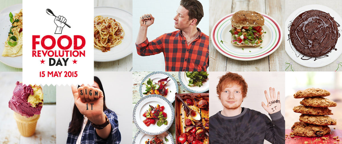 Jamie Oliver – Food Revolution Day Launch